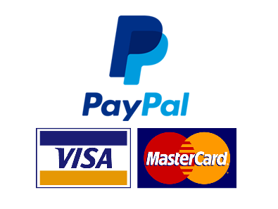 Secure Payment. PayPal and Braintree secure payment.